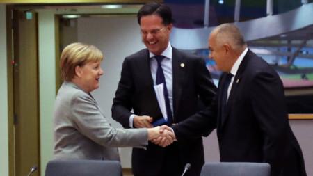 Бойко Борисов е в Брюксел, където в рамките на Европейския съвет лидерите обсъждат изменението на климата