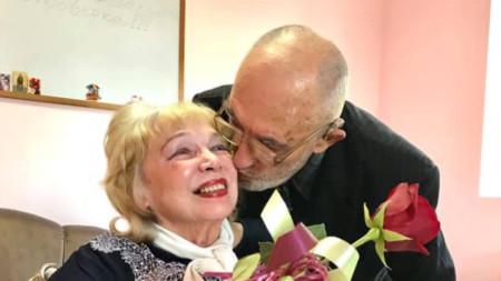 Галина Розовская и Васил Василев