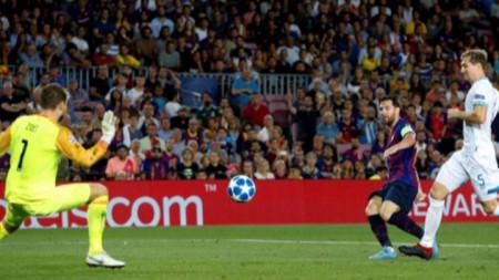 Барселона - ПСВ Айндховен  4:0
