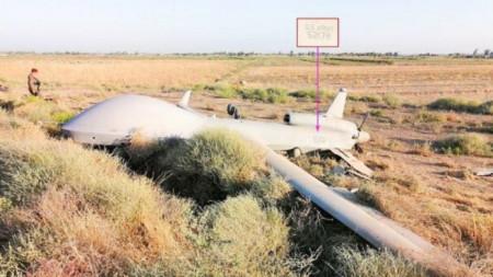 Шионски дрон на САЩ се разби близо до Багдад