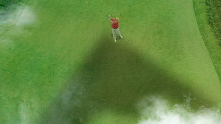 Изображение в акаунта на аятолах Хаменей показва мъж, приличащ на Тръмп, да играе голф.