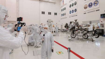 Новият марсоход ще бъде изстрелян през юли