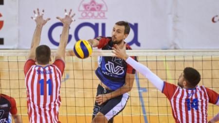 Виктор Йосифов отбеляза 9 точки.