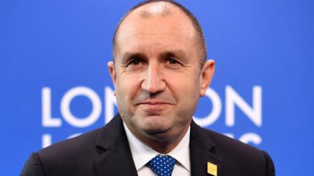 Румен Радев е в Лондон за срещата на лидерите на страните от НАТО