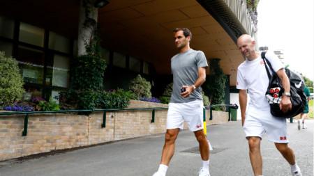 Федерер и Любичич вече се готвят за сезон 2021.