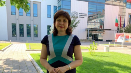 Ректорът на МУ-  Пловдив проф. Мариана Мурджева