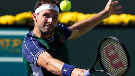 Григор Димитров се класира за полуфиналите на Мастърса в Индиън Уелс