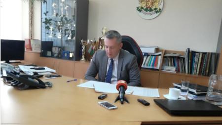Николай Хаджиев - директор на Областната дирекция на МВР в Благоевград
