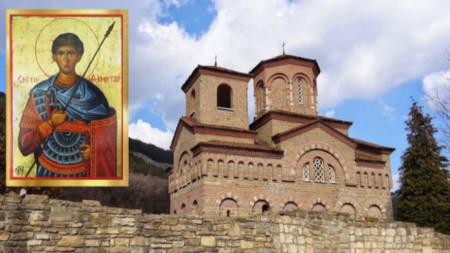 Veliko Tırnovo kentinde Selanikli Aziz Dimitrios Kilisesi.
