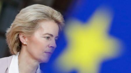 Урсула фон дер Лайен, която е избрана за председател на Европейската комисия.