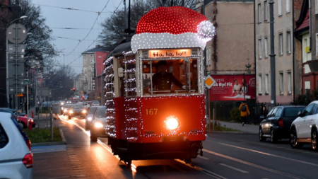 Шчечин, Полша, 20 декември 2020 г.