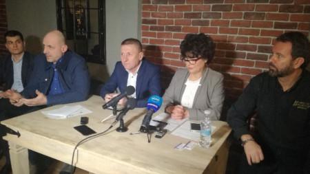 Решението за започване на протести бе взето на национална среща на Българската хотелиерска и ресторантьорска асоциация във Велико Търново.
