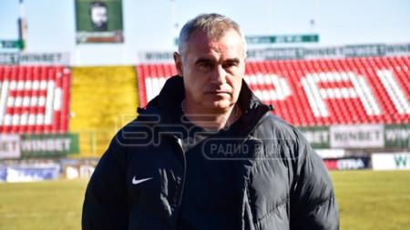 Сашо Ангелов, старши-треньор на