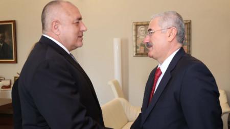 Бойко Борисов се срещна с главния прокурор на Турция Мехмет Акарджа