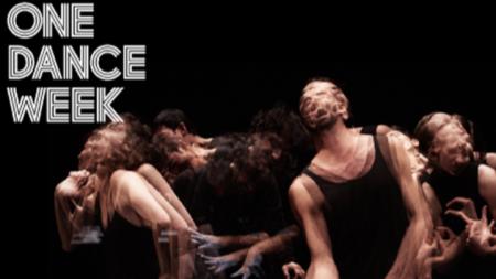 Плакат на спектакъла #minaret на звездата от Арабския регион Омар Раджех, който ще открие 11-тото издание на ONE DANCE WEEK.