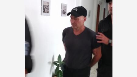 задържаният Тодор Стаматов