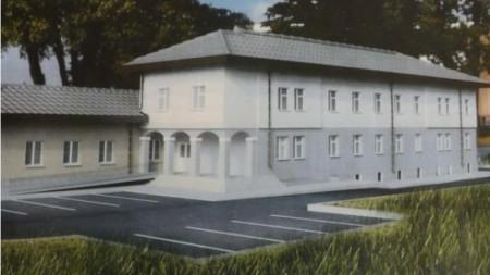 Проект за Медицински център във Върбица.