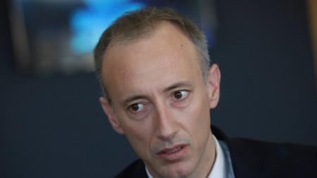 Министърът на образованието Красимир Вълчев