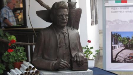 Бюст на Елиас Канети в Русе