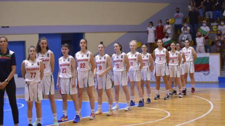 Баскетболните националки на България.