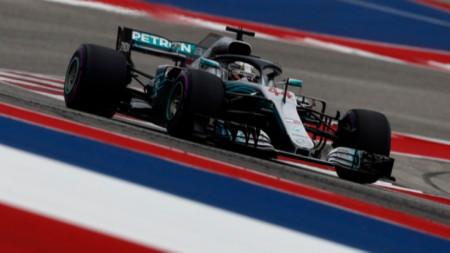 Хамилтън потегля първи за Гран при на САЩ