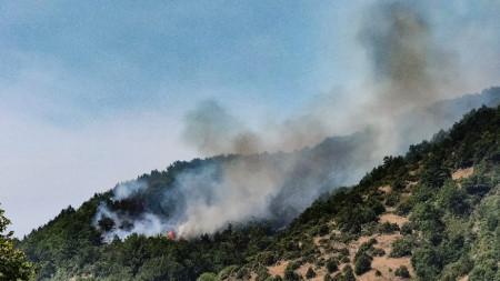 Пожарът в Голешево