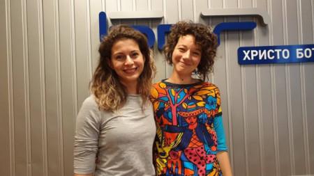 Мария Стайнова и Виолетка Славова