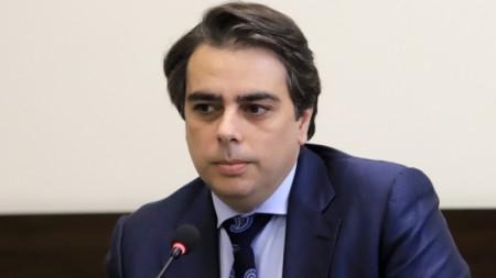 Министър на финансите Асен Василев