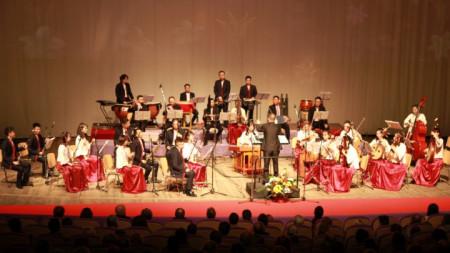"""Концертът """"Звуци от земите на Гансу"""" в Конгресния и фестивален център във Варна"""