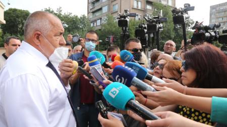 Борисов беше на разпит в спецпрокуратурата като свидетел заради твърдения на Бобоков.