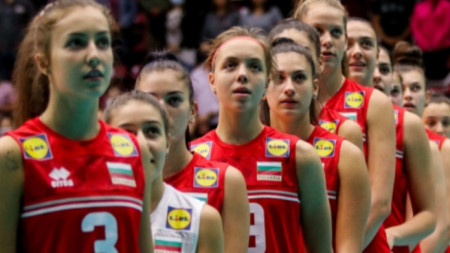 Националният отбор по волейбол  на България за девойки под 18 години