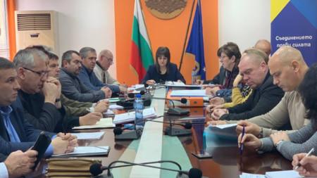 Координационна среща с институциите във връзка с процедурите по модернизацията на път E-79 се проведе в Областната администрация във Видин.