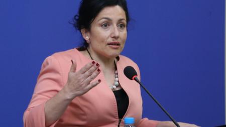 Министърът на земеделието Десислава Танева.
