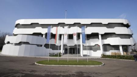 Националната футболна база в Бояна