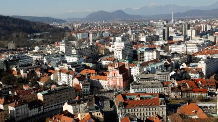 Изглед към Любляна