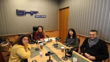 Полина Паунова, Ива Дойчинова, Силвия Великова и Георги Богданов