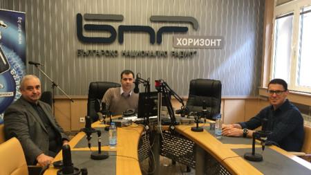 """Виктор Йоцов и Константин Проданов в предаването """"Неделя 150"""""""