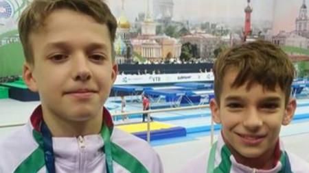 Валентин Стоянов и Мартин Димитров