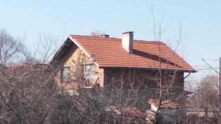 Къщата, където е извършено четворното убийство