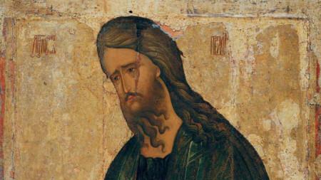 Ikone des heiligen Johannes