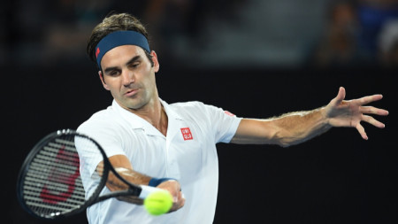 Роджър Федерер постигна 17-а поредна победа в Мелбърн.