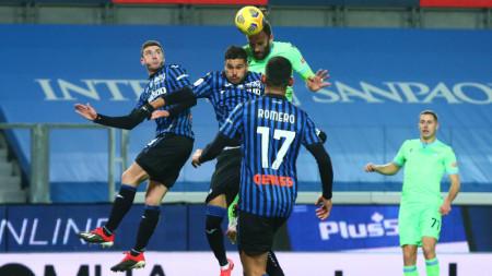 Аталанта победи Лацио с 3:2