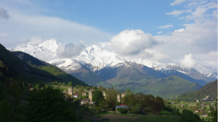 Сванетия, Голям Кавказ, Грузия