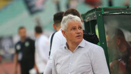 Стойчо Стоев вече не е треньор на Лудогорец