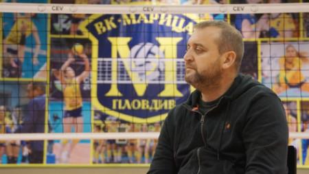 Иван Петков е най-добрият треньор в историята на ВК Марица (Пловдив)