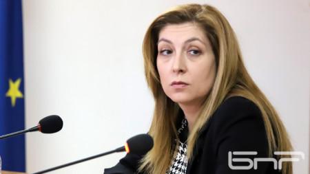 София Владимирова - член Совета по электронным СМИ
