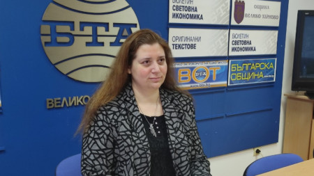 Десислава Йонкова, председател на РИК - Велико Търново