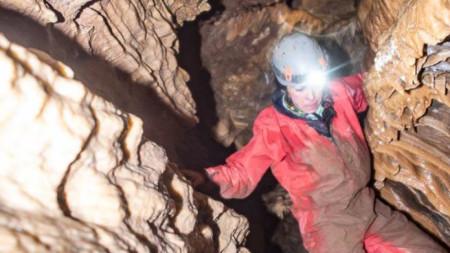 Проучване на пещера