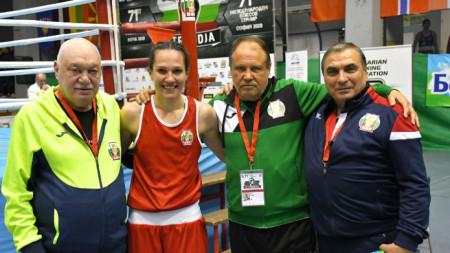 Станимира Петрова след снощната победа на турнира Купа