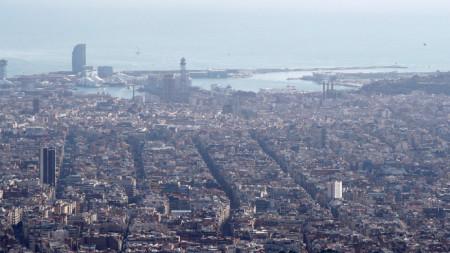 Изглед към Барселона
